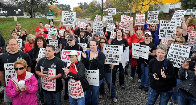 FairPoint Workers Strike