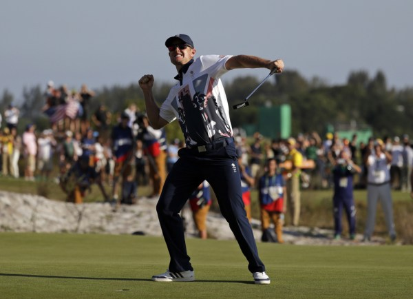Rose captures golf's 1st gold medal in 112 years - The ...