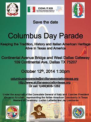 Columbus Day Parade a Dallas