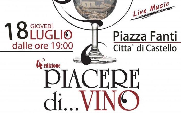 Un piacere tutto di vino a Città di Castello