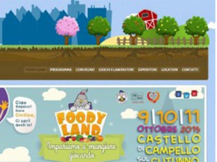 Buon cibo, terra, prevenzione alimentare: arriva in Umbria la cittadella Foodyland