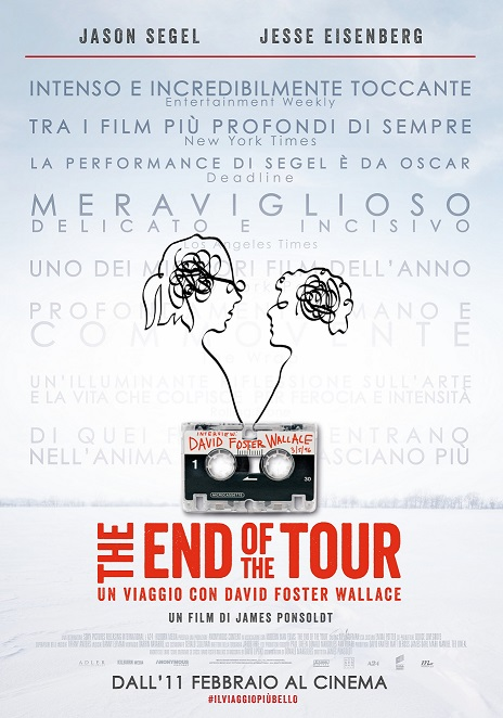 """In Sala il Trailer ufficiale italiano """"The End of the Tour"""""""