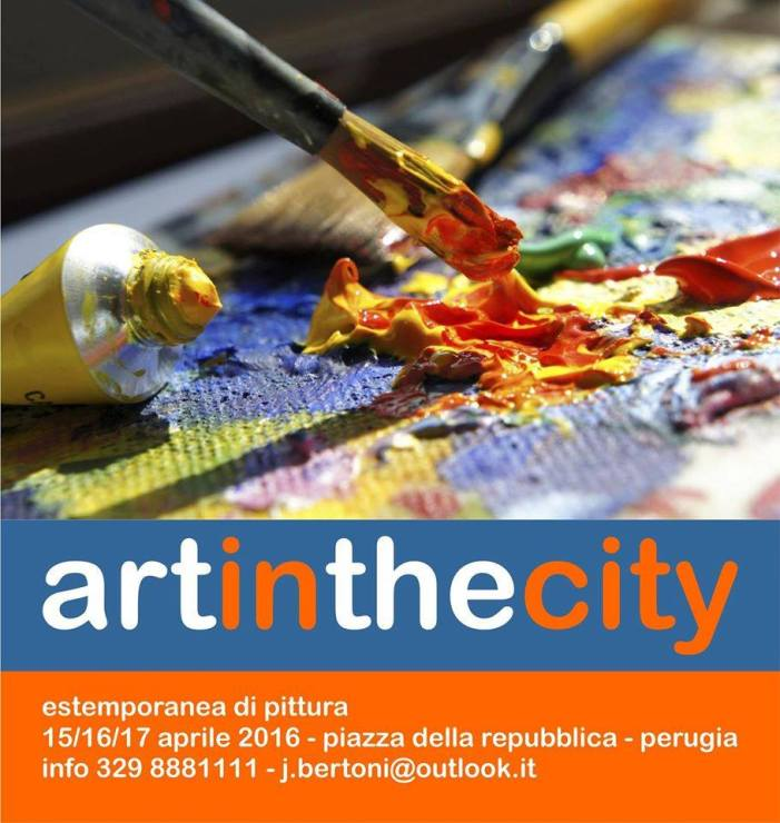"Art in the city – Estemporanea di pittura ""en plein air"""