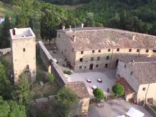 Castello di Petroia, festeggiamenti per Federico da Montefeltro