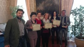 Sottosegretario di Stato all'Ambiente, Barbara Degani - Roberto Cavallo - Isabella Ceccarelli - Pierluigi Monsignori