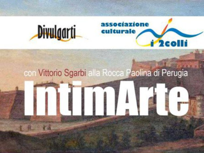 "Sgarbi inaugura a Perugia ""Intimarte"""
