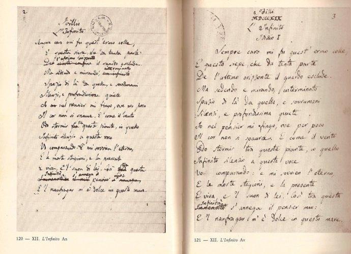 Manoscritto-originale-L'Infin