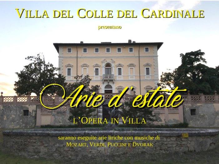 Arie d'estate, l'Opera in Villa