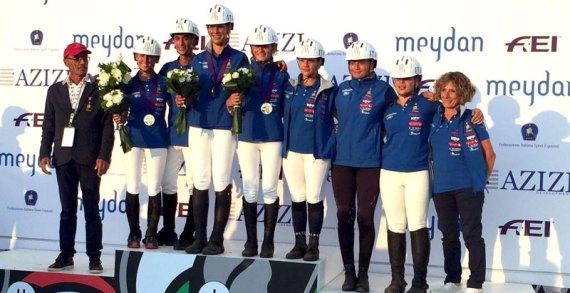 L'Italia di Fausto Fiorucci è medaglia d'argento