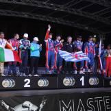 Il podio per la Coppa delle Nazioni