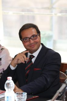 Il patron del Premio Penisola Sorrentina, Mario Esposito
