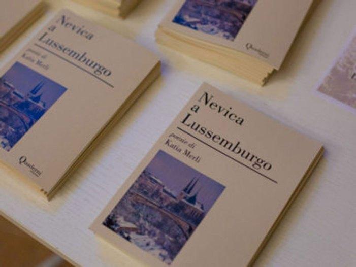 """""""Nevica a Lussemburgo"""" è il primo libro di Katia Merli"""