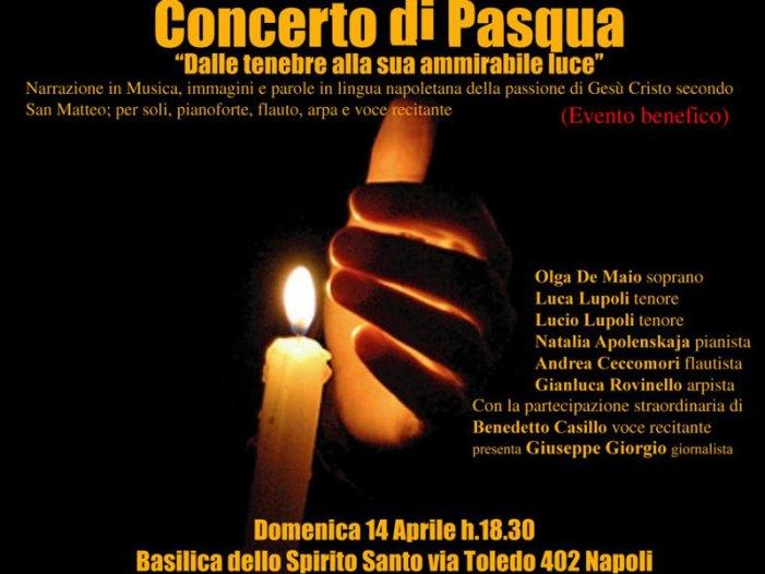Il Concerto di Pasqua 2019 alla Basilica dello Spirito Santo di Napoli