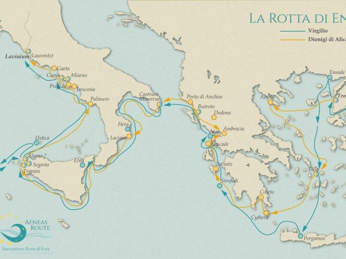 In cinque paesi mediterranei sulle tracce di Enea un itinerario in 21 tappe tra archeologia, cultura e natura