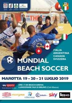 Mundial Beach Soccer-locandina