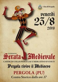 A Pergola la Serata Medievale-locandina