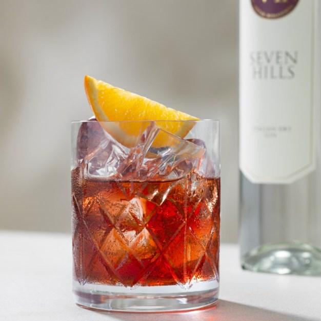 Negroni con VII Hills italian Dry Gin