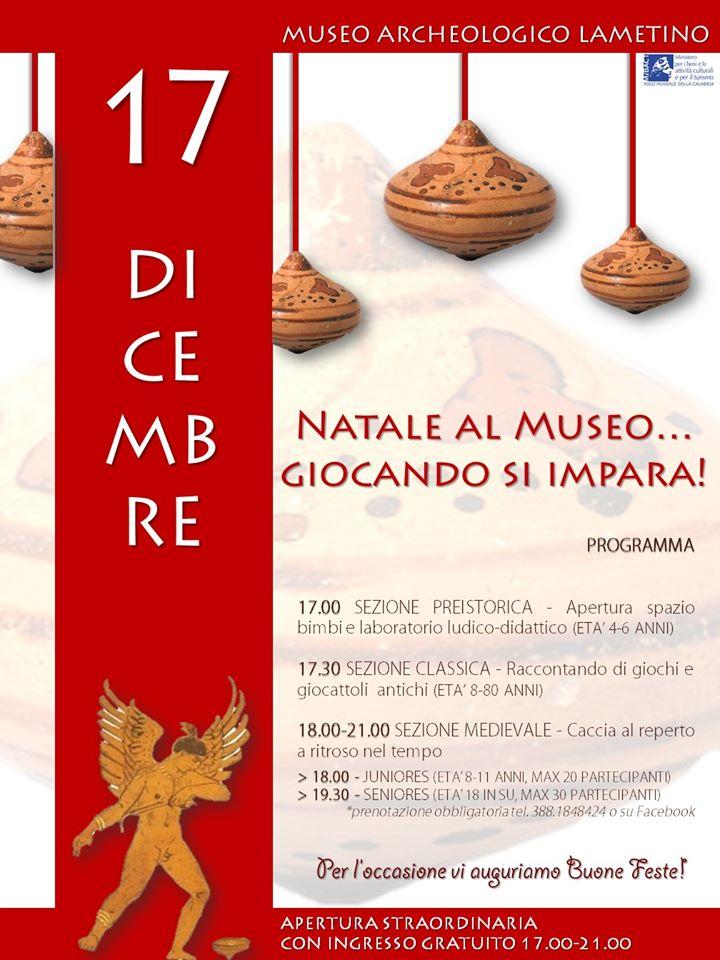 Museo archeologico Lametino-locandina