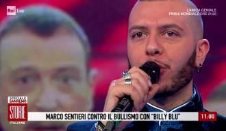 Marco Sentieri RAI1 con Amadeus