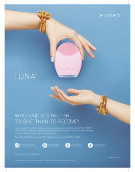 Foreo Full page ad