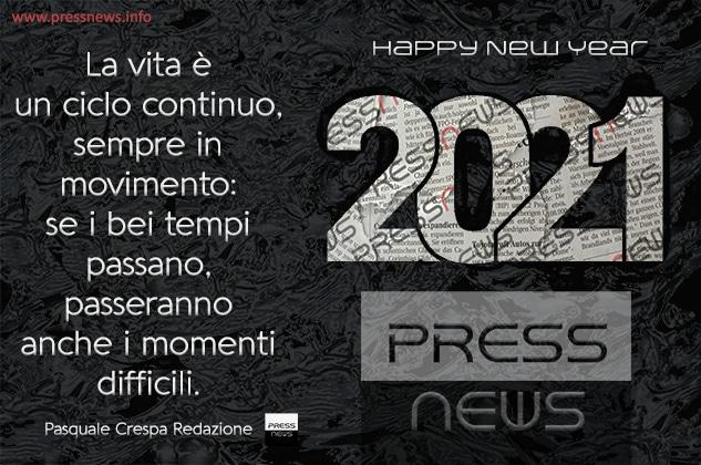 Buon 2021 a tutti i nostri lettori