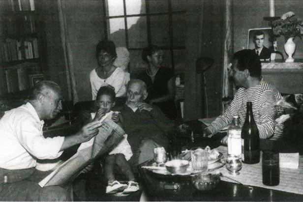 Ordine e Irregolarità alla tavola di Edwin Cerio: Giovanni Brancaccio e Raffaele Castello ospiti del quarto faraglione di Capri
