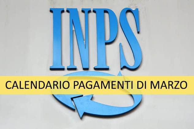 Ecco il calendario dei pagamenti INPS previsti per il mese di marzo 2021