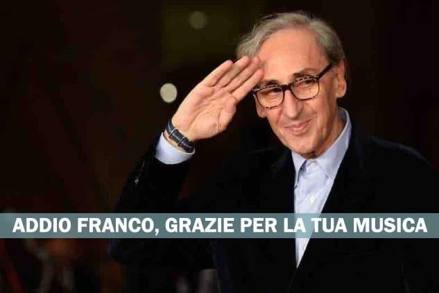 È morto Franco Battiato, Aveva 76 anni. Ci la lasciato un Maestro. Uno dei più grandi della canzone d'autore italiana