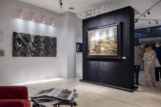 L'ultima grande battaglia – dal Barocco di Salvator Rosa al contemporaneo di Max Coppeta. Il dialogo contemporaneo dell'artista con il passato.