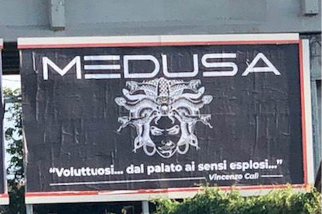 Vincenzo Calì – Medusa – Lounge Restaurant – Poesia in tavola