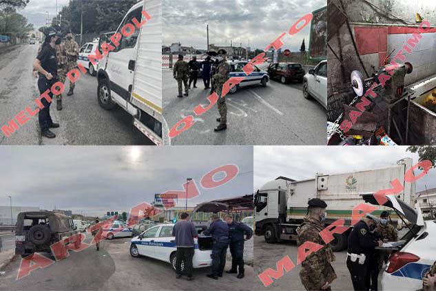 """""""Action day"""" interforze in """"Terra dei fuochi"""", operazioni di """"secondo livello"""" nell'area Napoli Ovest , coordinati dal col. Biagio Chiariello"""