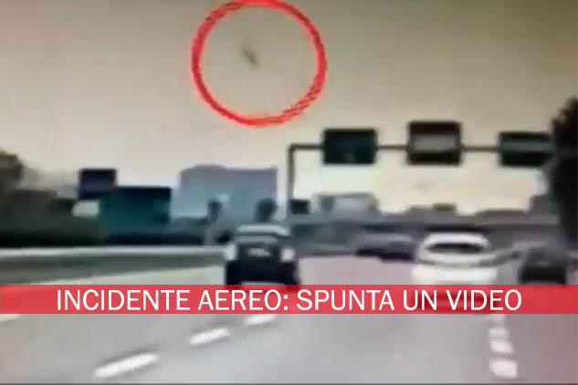 Milano. Aereo caduto a San Donato: lo schianto ripreso in un video amatoriale dalla Tangenziale Est