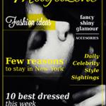 Magazine Templates Free from PressPad - Dark