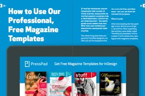 magazine app design