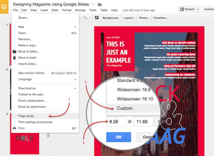 Portrait Slide Google Presentations