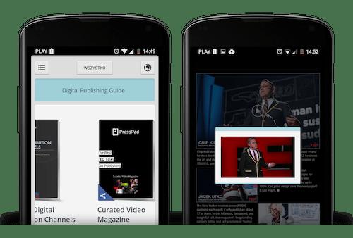 digital video magazine app