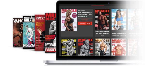 digital publishing platform for magazines