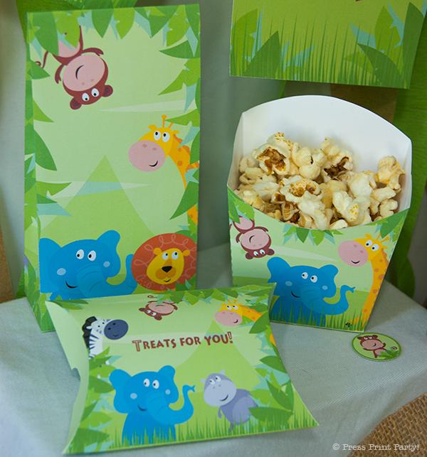 Jungle Safari Printables For Birthday Or Baby Shower