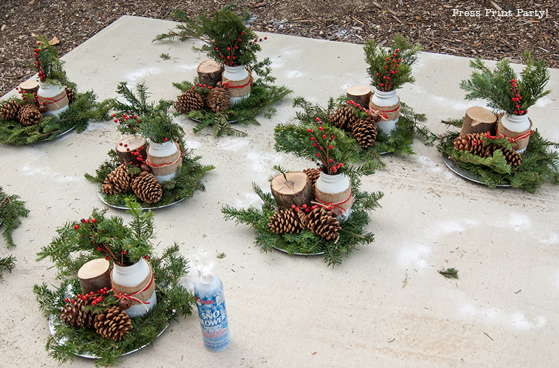 Rustic Christmas Centerpieces | Home Decorating, Interior Design ...
