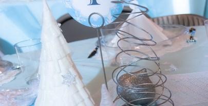 Christmas Winter Wonderland Table Decorations Centerpiece DIY
