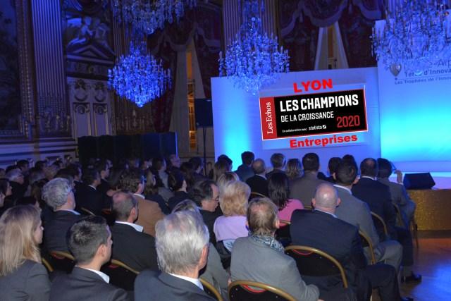 Entreprises : Les champions de la croissance 2020 à Lyon/ étude Les Echos / Statistica