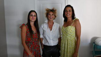 Team Troops et Émilie Legoff, ceo Troops et co-présidente de la French Tech One Lyon St-Étienne