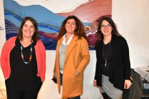 Amandine Podrini et sa team à Upcycling festival