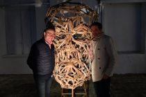 Jacques Chalvin et Raphaël Thierry à upcycling festival