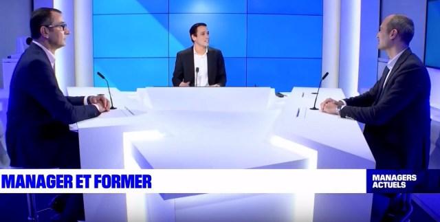 Frank Petitdemange et Guillaume Cochet invité Managers actuels BFM Lyon