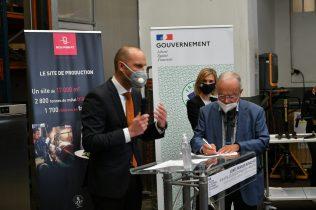 partenariat entre Bourgeat et Vorwerk : allocution de Hendrik Wehr