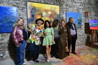 Maria Achmar Arouss, Virginie Plantin, Michel Tong, Emma Henriot, Nelly Schwartz, Jean-Luc Boun à la Galerie d'Art Emma