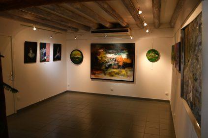 Galerie d'Art Emma à Malleval : Exposition de 7 artistes Internationaux du 21 mai au 21 juin 2021