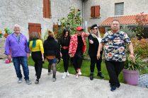 artistes Virginie Plantin, Michel Tong, Emma Henriot, Nelly Schwartz, Maria Achmar Arous, Jean-Luc Boun à la Galerie d'Art Emma