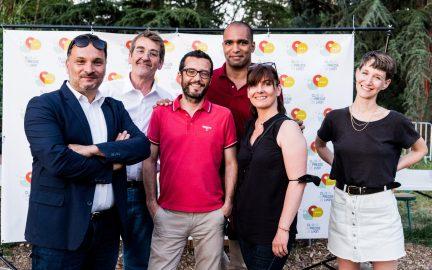 Mathieu Ozanam, thierry kiefer, Laurent Burlet, Zoé Favre d'Anne_Club de la Presse de Lyon